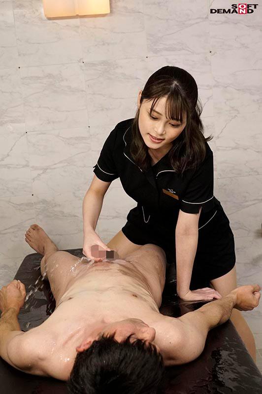 メンズエスティシャン希代あみちゃんに男の潮吹きするまで搾り取られるエロ画像7